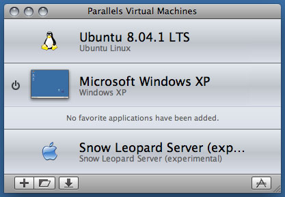 「Parallels Desktop 4.0 for Mac」における「Virtual Machine Directory」