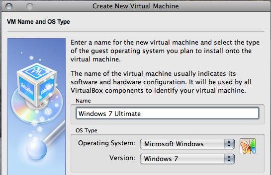 「VirtualBox 2.1.2」、OSタイプとして「Windows 7」を指定可能